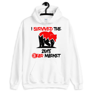 I survived the 2018 bear market Unisex Hoodie