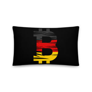 Bitcoin German Flag Basic Pillow