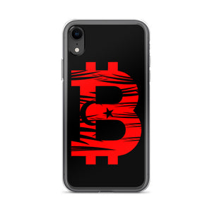 Bitcoin Turkish Flag iPhone Case
