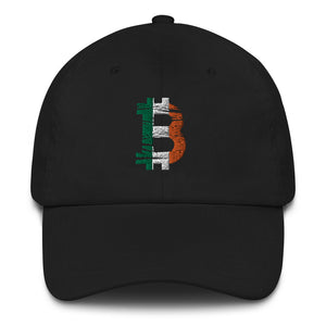 Bitcoin Irish flag Dad Hat