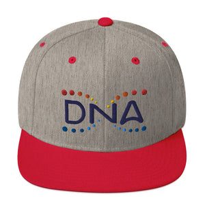 DNA Metaverse Snapback (3D embroidered colored logo)