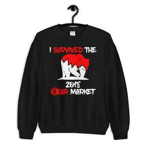 I Survived The 2018 Market Unisex Sweatshirt
