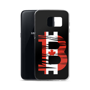 Canadian Bitcoin Flag Samsung Case