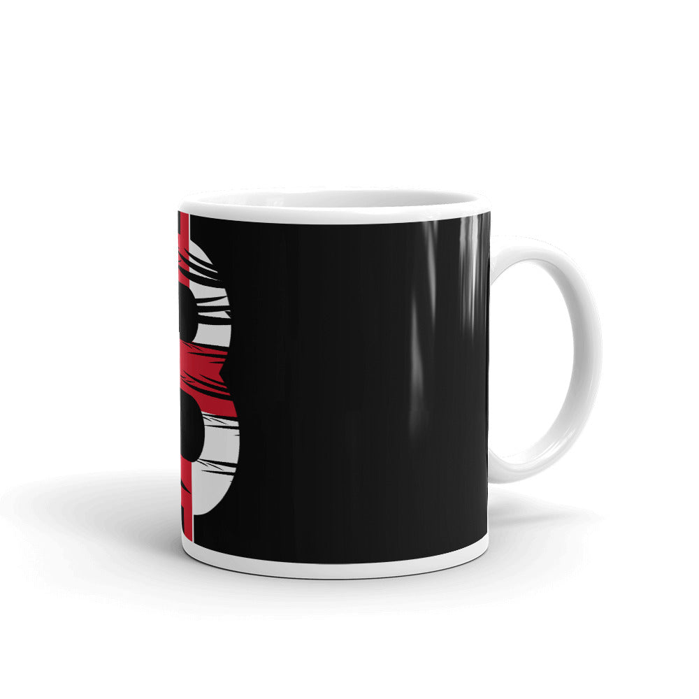 Bitcoin English Flag Mug