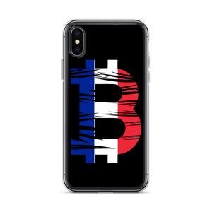 Bitcoin French Flag iPhone Case