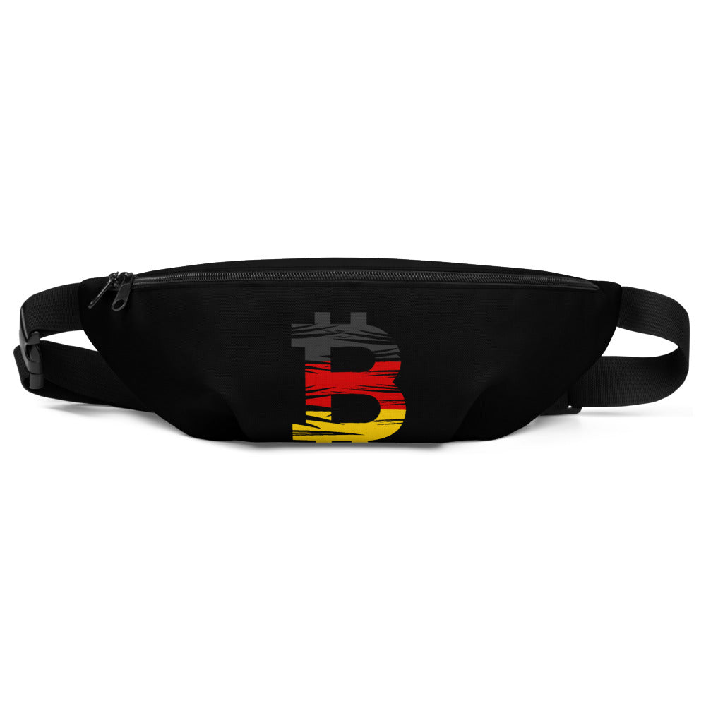 Bitcoin German Flag Fanny Pack