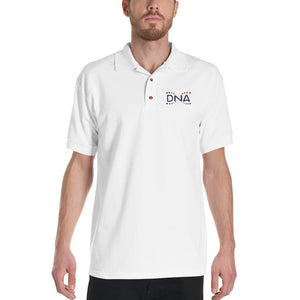 DNA Metaverse Polo Shirt (Emboidered / Colored Logo)
