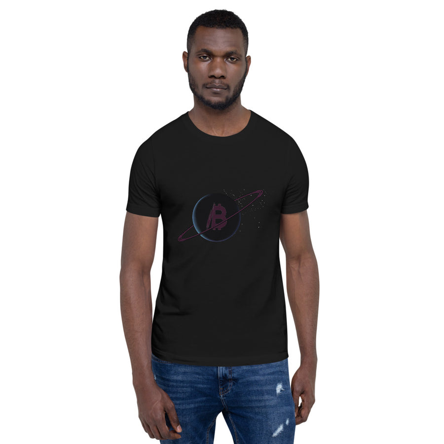 Bitcoin Moon Unisex T-Shirt