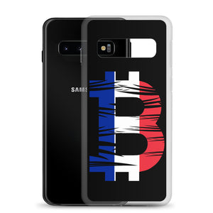 Bitcoin French Flag Samsung Case
