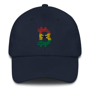 Bitcoin Ghanaian flag Dad Hat