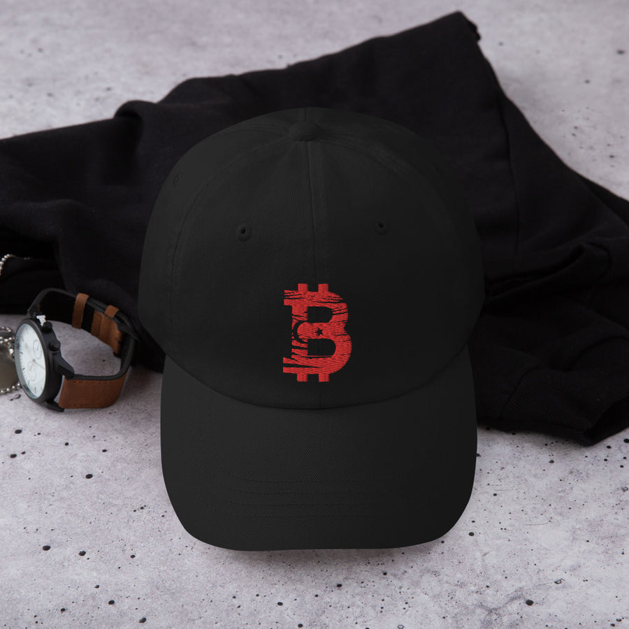 Bitcoin Turkish flag Dad Hat