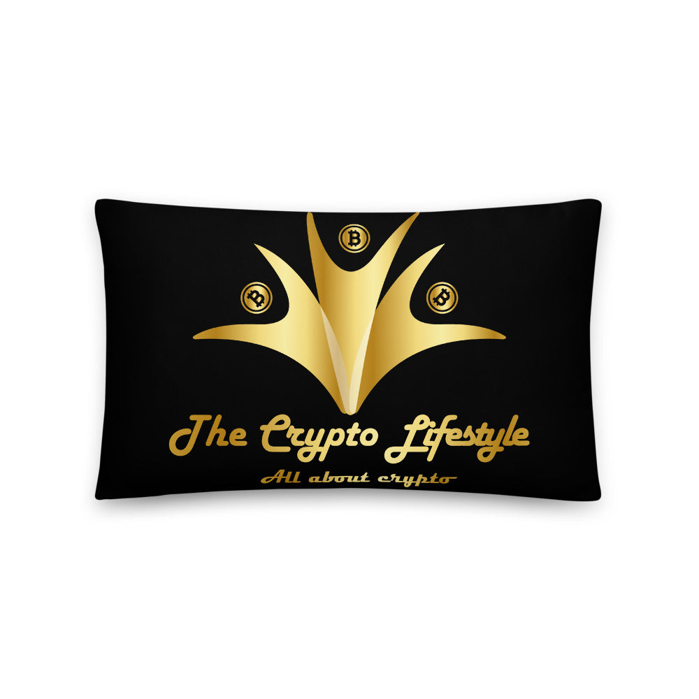 Crypto Life Basic Pillow