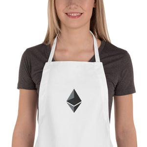 Embroidered Apron ethereum logo