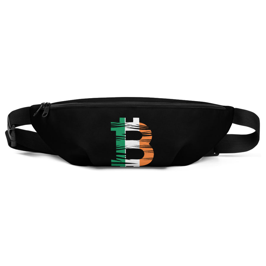 Bitcoin Irish Flag Fanny Pack