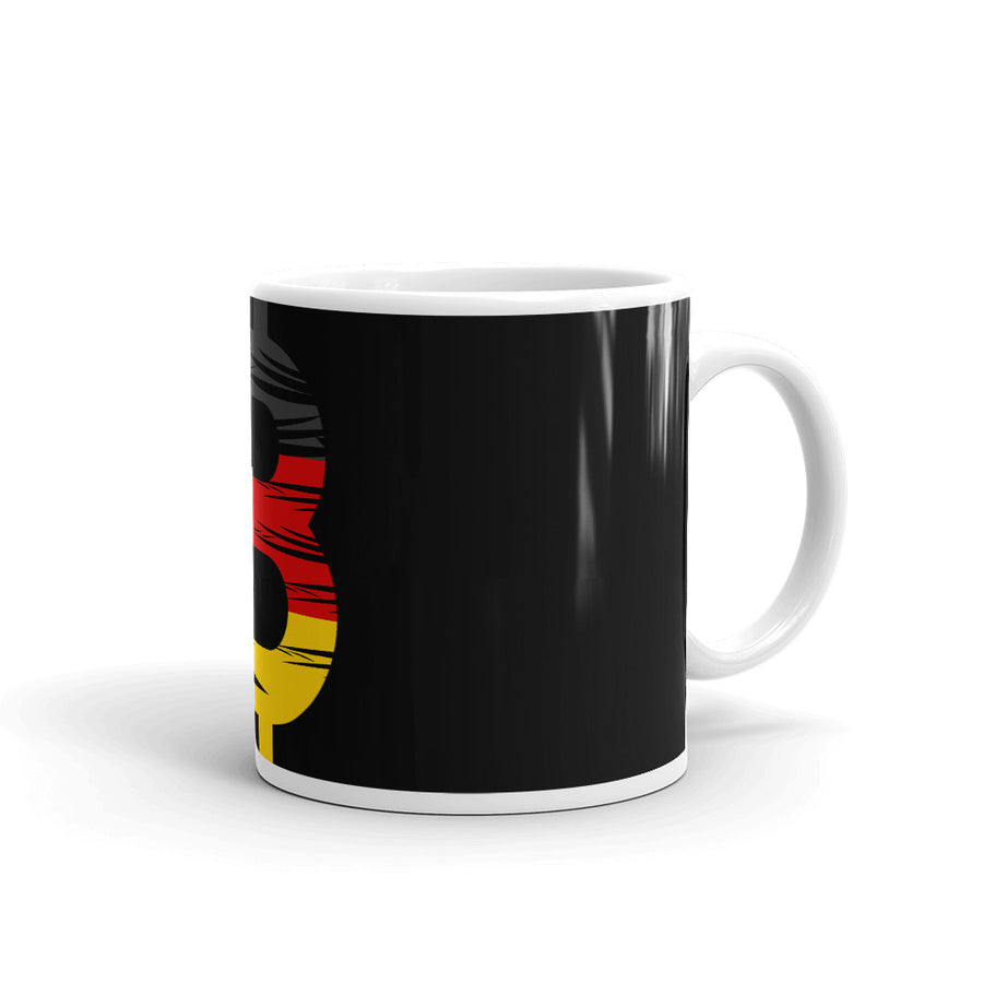 Bitcoin German Flag Mug