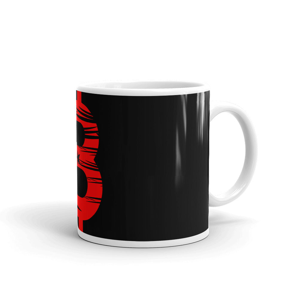 Bitcoin Turkish Flag Mug