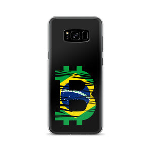 Brazilian Bitcoin Flag Samsung Case