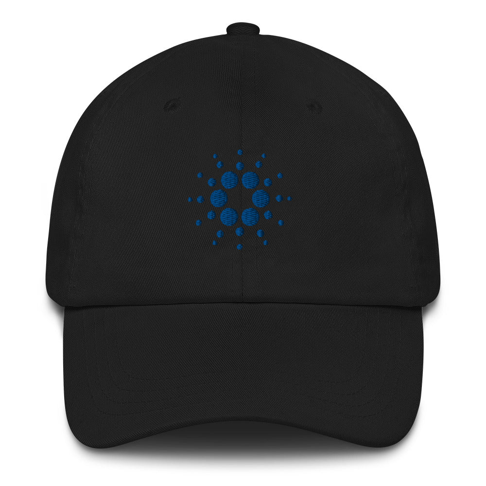Cardano logo Dad hat