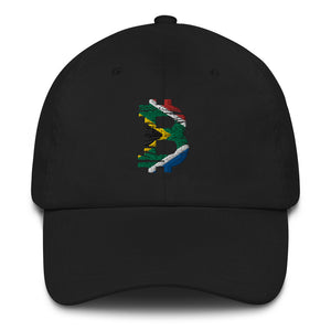 Bitcoin South African flag Dad Hat