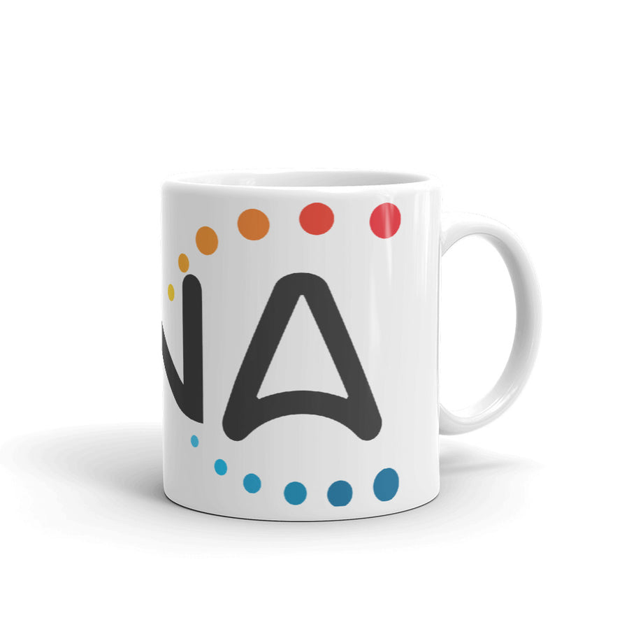 DNA Metaverse Coffee Mug (Colored Logo)