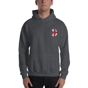 bitcoin English flag Unisex Hoodie