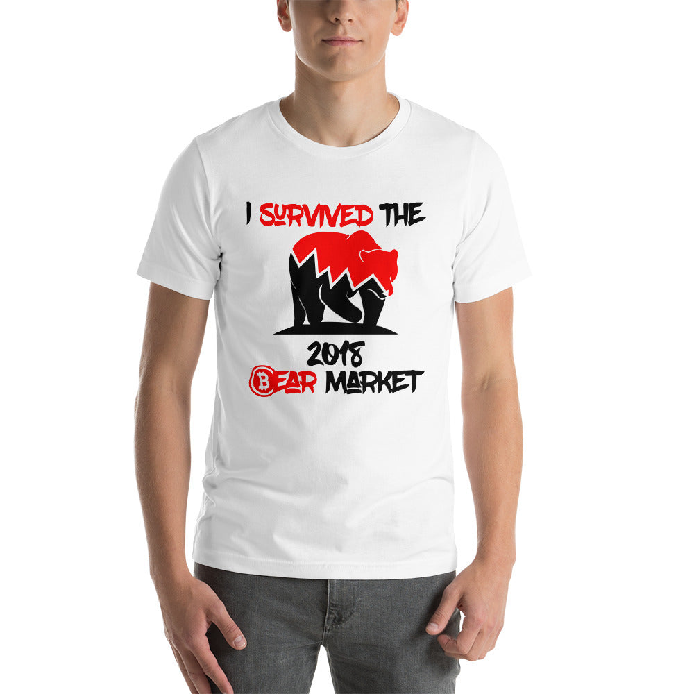 I Survived The 2018 market Unisex T-Shirt
