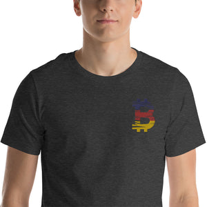 Bitcoin German flag Unisex T-Shirt