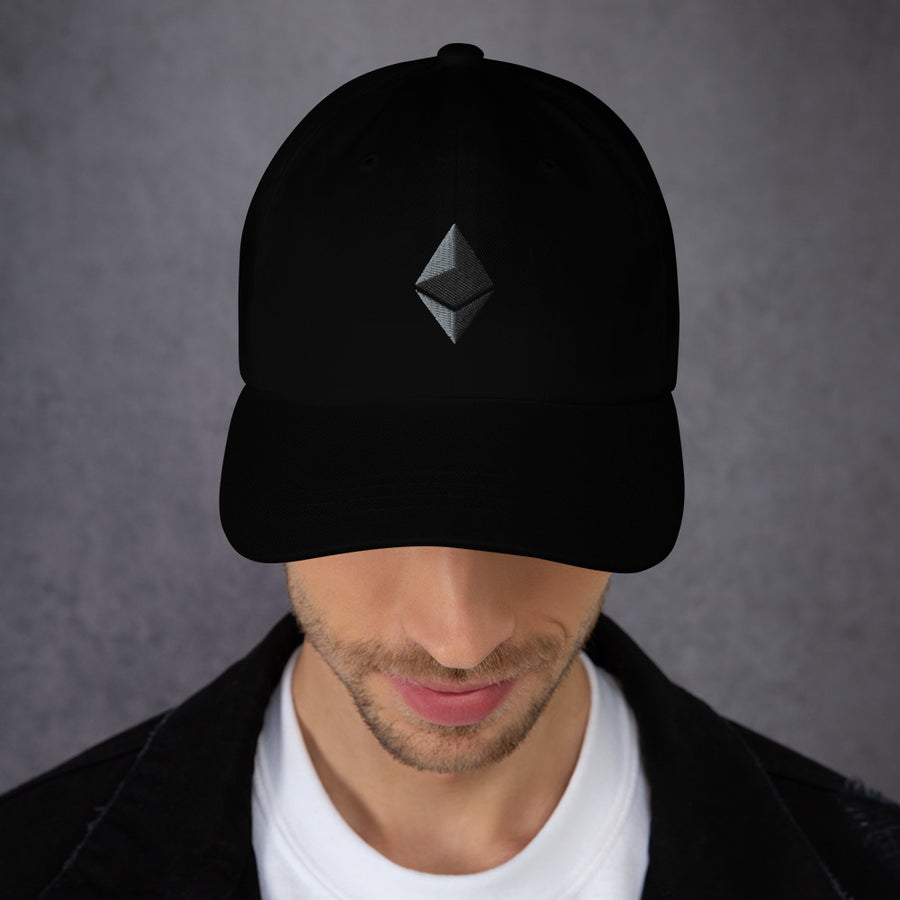 Ethereum logo Dad hat