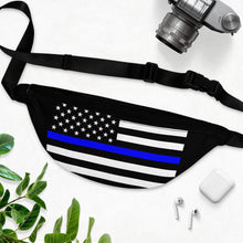 Load image into Gallery viewer, THIN BLUE LINE Fanny Pack