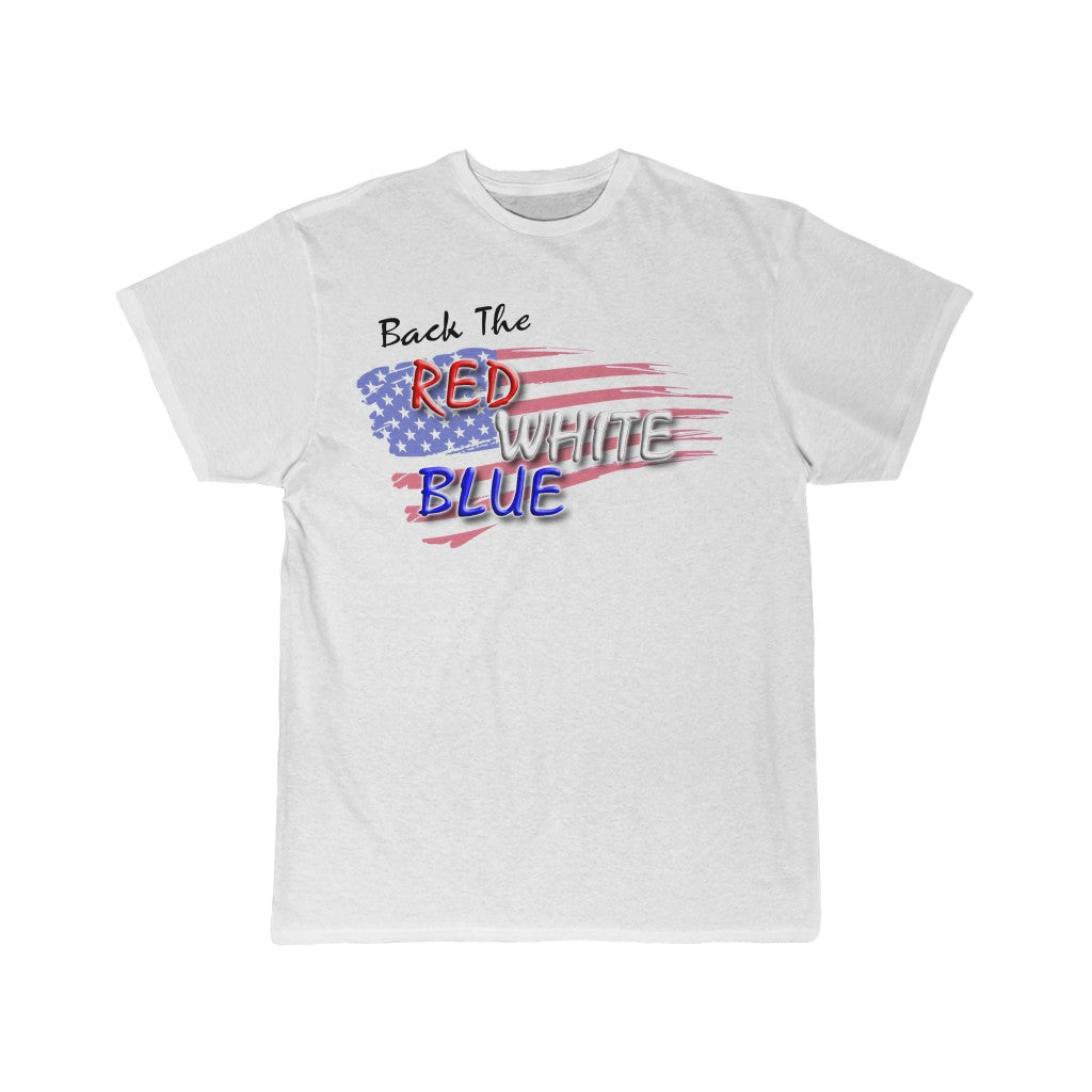 BACK THE RED, WHITE, BLUE Tee