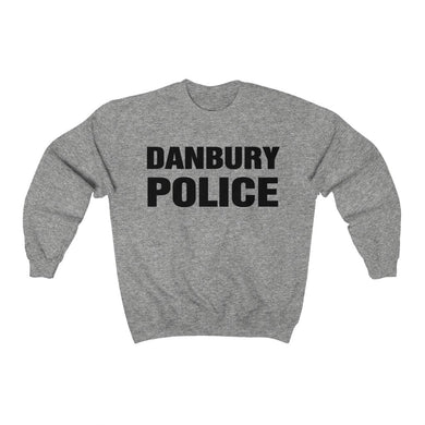 DANBURY POLICE Heavy Blend™ Crewneck Sweatshirt