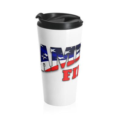 AMERICA FIRST Stainless Steel Travel Mug