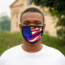 Load image into Gallery viewer, AMERICAN FLAG Mixed-Fabric Face Mask