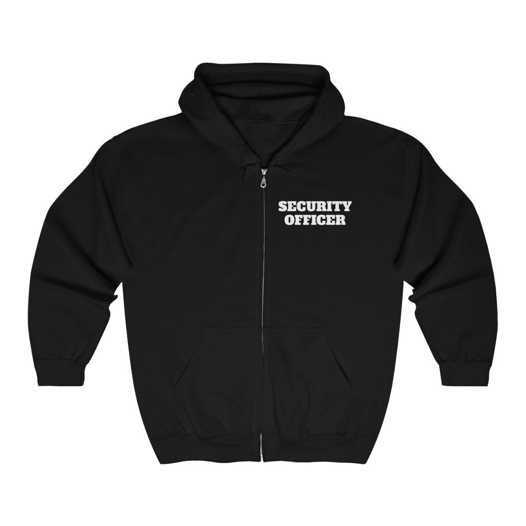 SECURITY OFFICER Heavy Blend™ Full Zip Hooded Sweatshirt