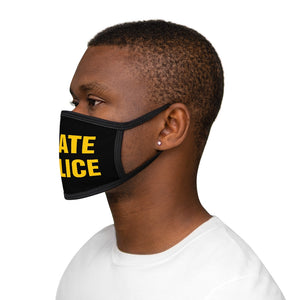 STATE POLICE Mixed-Fabric Face Mask