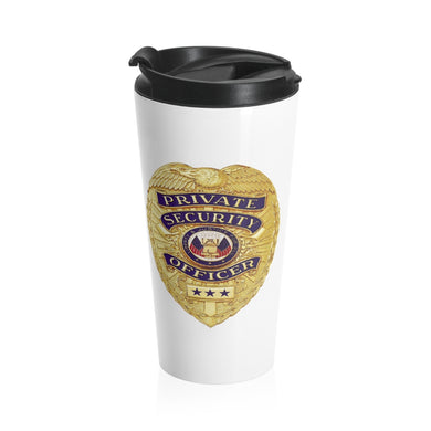 SECURITY BADGE Stainless Steel Travel Mug