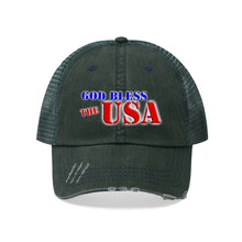 Load image into Gallery viewer, GOD BLESS THE USA Trucker Hat