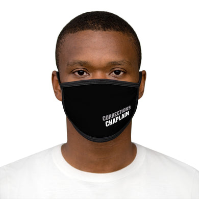 CORRECTIONS CHAPLAIN Mixed-Fabric Face Mask