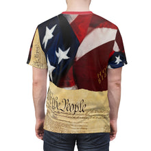 Load image into Gallery viewer, AMERICA FIRST AOP Cut & Sew Tee