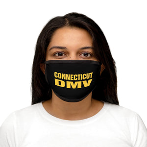 CT DMV Mixed-Fabric Face Mask