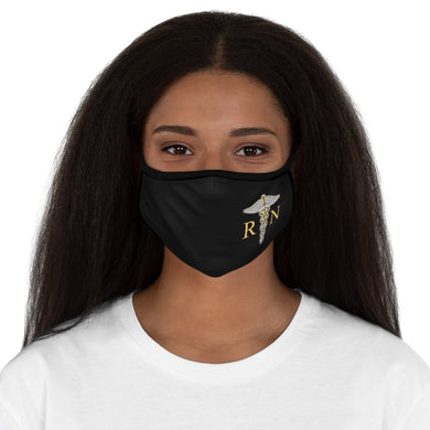 NURSE Fitted Polyester Face Mask