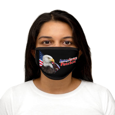 AMERICAN PATRIOT Mixed-Fabric Face Mask