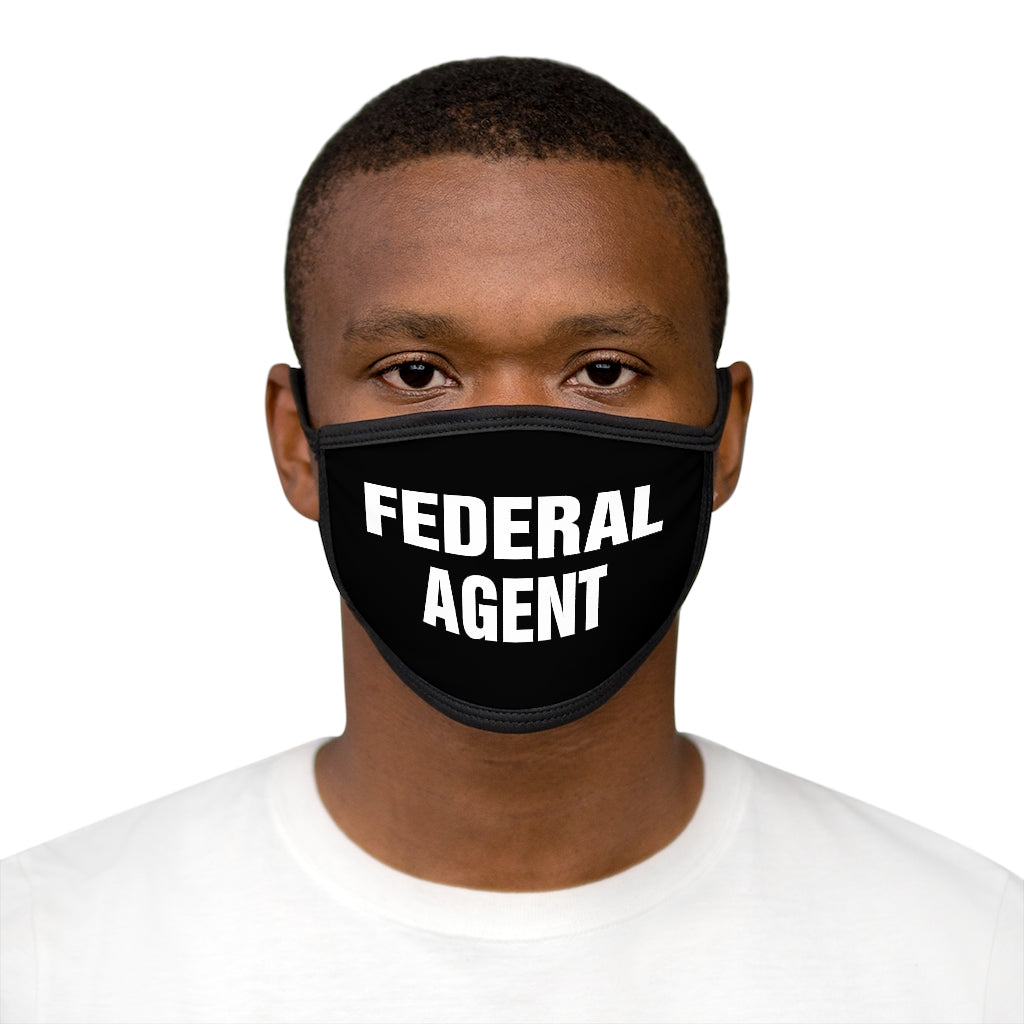 FEDERAL AGENT Mixed-Fabric Face Mask