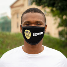 Load image into Gallery viewer, SECURITY BADGE Mixed-Fabric Face Mask
