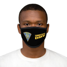 Load image into Gallery viewer, CT DMV Mixed-Fabric Face Mask