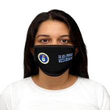 Load image into Gallery viewer, US AIR FORCE VETERAN Mixed-Fabric Face Mask