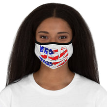 Load image into Gallery viewer, USA TOGETHER Fitted Polyester Face Mask