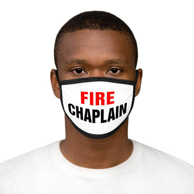 FIRE CHAPLAIN Face Mask