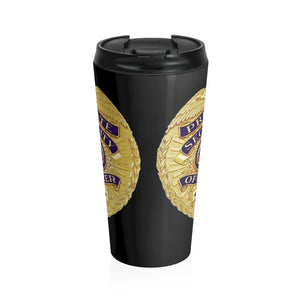 SECURITY Stainless Steel Travel Mug