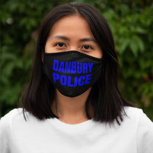 Load image into Gallery viewer, DANBURY POLICE Fitted Polyester Face Mask